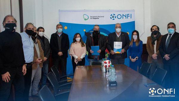Acuerdo Licencia C CONMEBOL entre AUDEF-ITP-ONFI