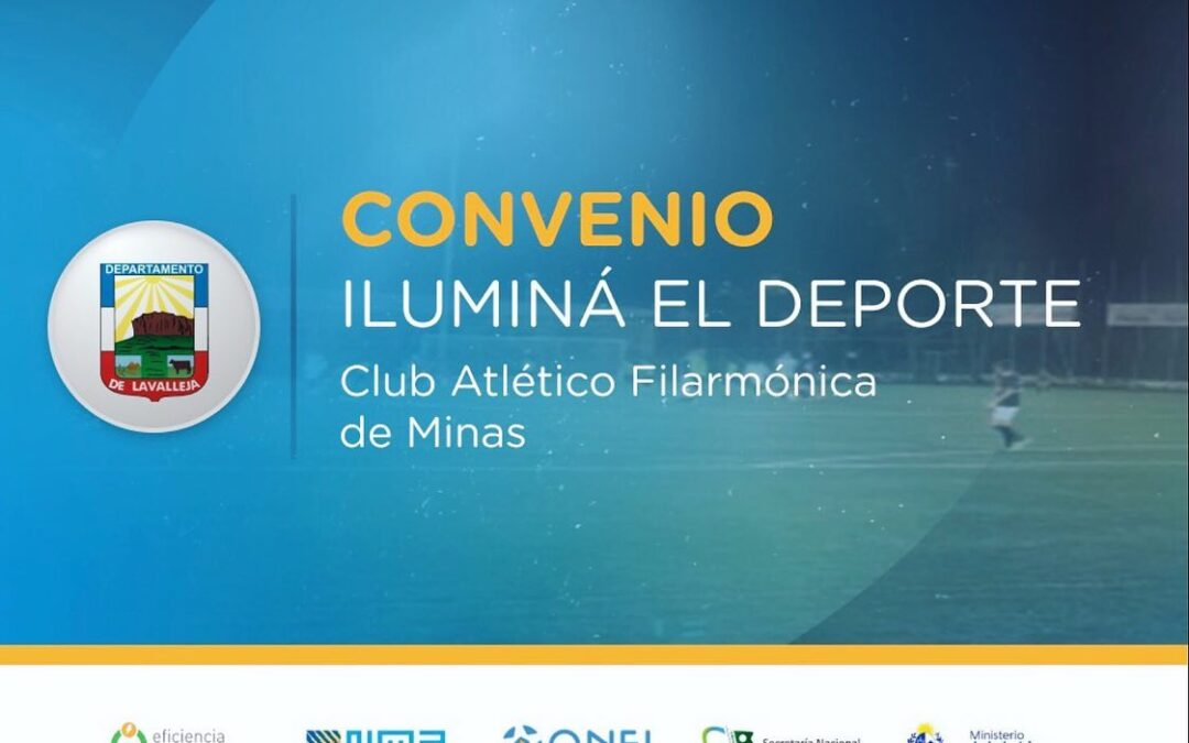 Iluminá el Deporte en el Club Atlético Filarmónica de Minas
