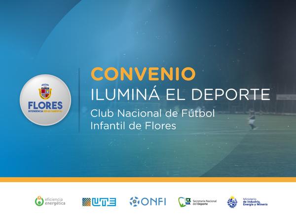 Iluminá el Deporte en el Club Nacional de Flores de Fútbol Infantil