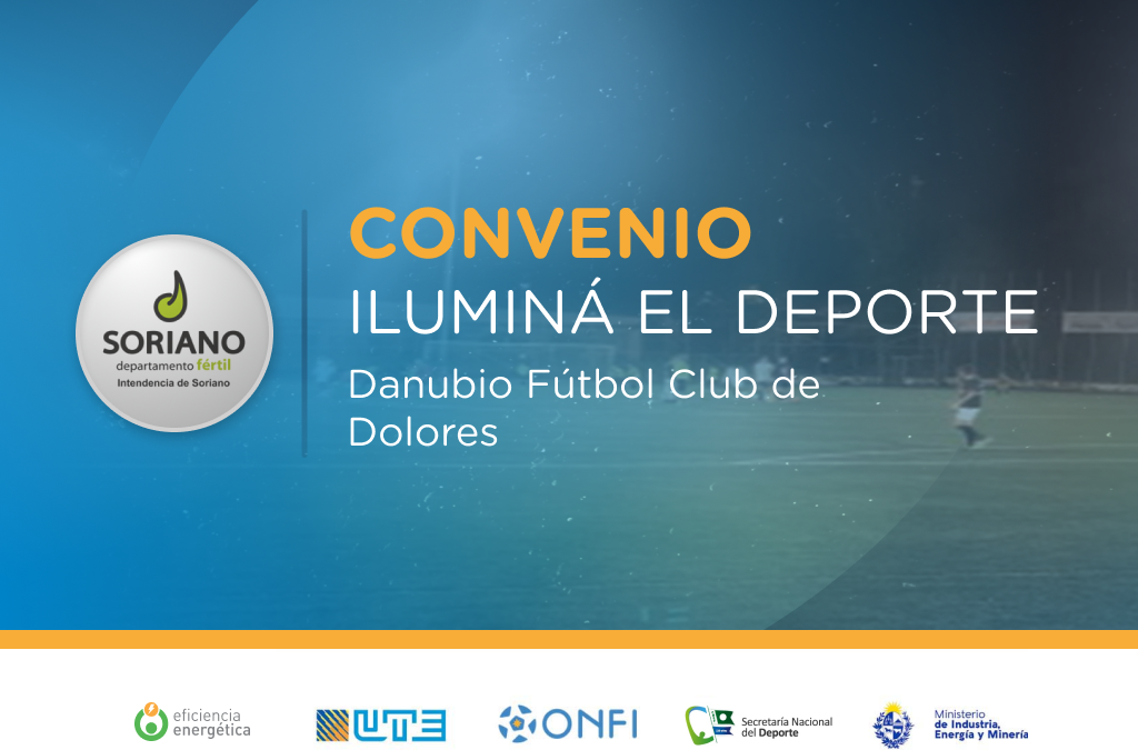 Iluminá el Deporte en Danubio Fútbol Club de Dolores